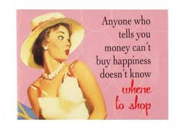 MONEY AND WHERE TO SHOP