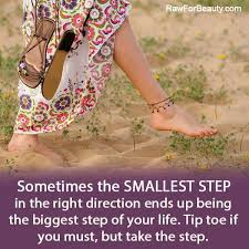 taking a step